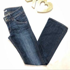 Hudson | Dark Blue Denim Bootcut Jeans Low Rise
